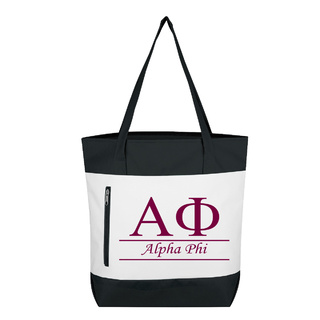 Alpha Phi New Game Day Tote