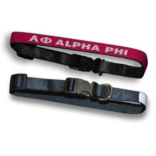 Alpha Phi Dog Collar