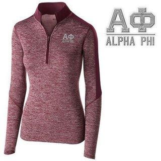 Alpha Phi Electrify 1/2 Zip Pullover