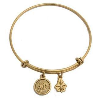 Alpha Phi Expandable Bracelet