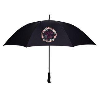 Alpha Phi Floral Umbrella