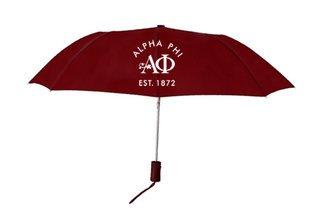 Alpha Phi Mascot Umbrella