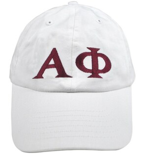 Alpha Phi Greek Letter Hat