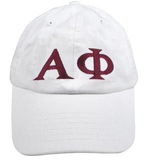 Alpha Phi Greek Letter Hat