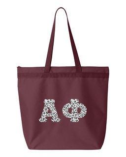 Alpha Phi Greek Letter Liberty Bag