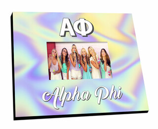 Alpha Phi Holla Picture Frame