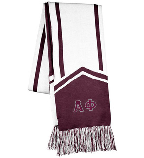 Alpha Phi Homecoming Scarf