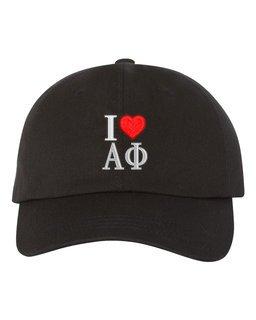 Alpha Phi I Love Hat
