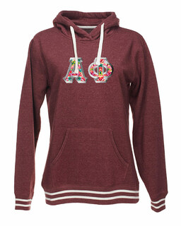 Alpha Phi J. America Relay Hooded Sweatshirt