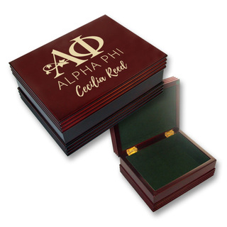 Alpha Phi Mascot Keepsake Box