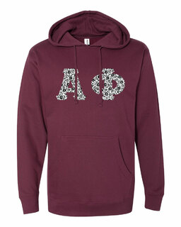 Alpha Phi Lettered Independent Trading Co. Hooded Pullover Sweatshirt