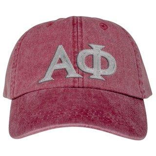 Alpha Phi Lettered Premium Pastel Hat