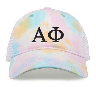 Alpha Phi Lettered Rainbow Cap