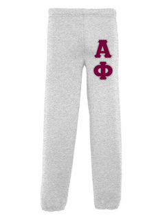 Alpha Phi Lettered Sweatpants