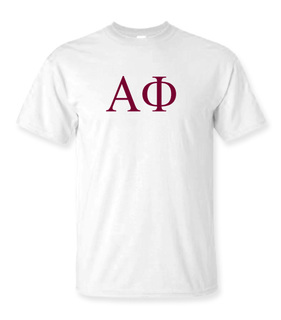 Alpha Phi Lettered Tee - $14.95!