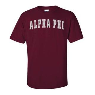 Alpha Phi Letterman T-Shirts