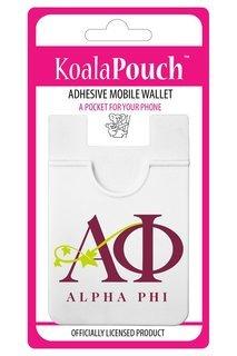 Alpha Phi Logo Koala Pouch