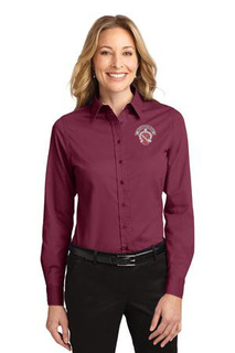 DISCOUNT-Alpha Phi Long Sleeve Oxford
