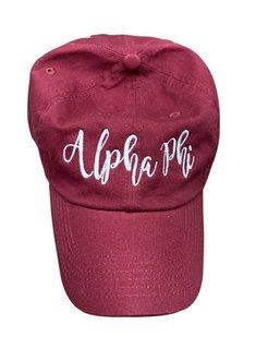 Alpha Phi Magnolia Skies Ball Cap