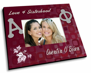 Alpha Phi Mascot Color Picture Frame