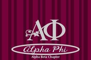 Alpha Phi Mascot Tablecloth