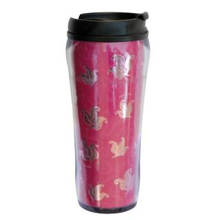Alpha Phi Metallic Travel Mug