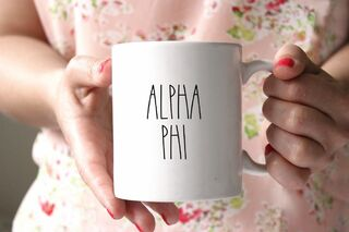 Alpha Phi MOD Coffee Mug