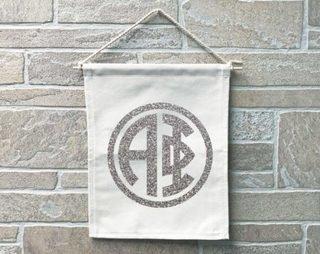 Alpha Phi Monogram Banner