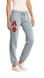 Alpha Phi Junior Core Fleece Pant