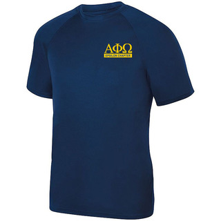 Alpha Phi Omega- $15 World Famous Dry Fit Wicking Tee
