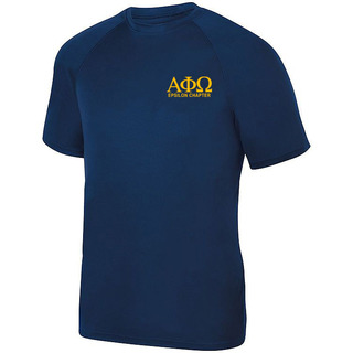 Alpha Phi Omega- $17.95 World Famous Dry Fit Wicking Tee