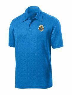 DISCOUNT-Alpha Phi Omega- World Famous Greek Crest - Shield Contender Polo