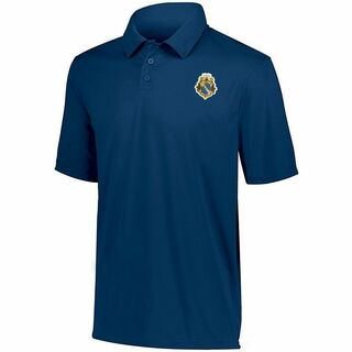 DISCOUNT-Alpha Phi Omega- World Famous Greek Crest - Shield Vital Polo