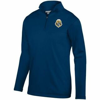 DISCOUNT-Alpha Phi Omega-  World famous-Crest - Shield Wicking Fleece Pullover