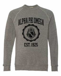 Alpha Phi Omega Alternative - Eco-Fleece� Champ Crewneck Sweatshirt