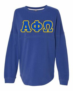 DISCOUNT-Alpha Phi Omega Athena French Terry Dolman Sleeve Sweatshirt