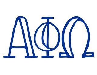 Alpha Phi Omega Carson Greek Sticker