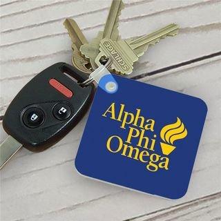 Alpha Phi Omega Mascot Key Chain
