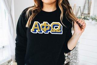 Alpha Phi Omega City Greek Sweatshirt