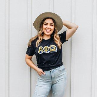 Alpha Phi Omega City Greek T-Shirt