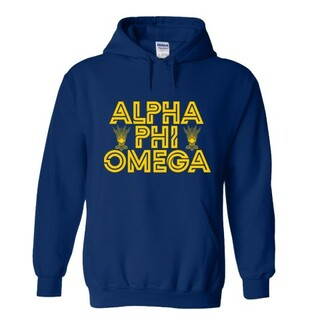 Alpha Phi Omega Crest - Shield Element Hoodie