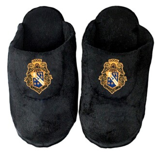 DISCOUNT-Alpha Phi Omega Crest - Shield Slippers