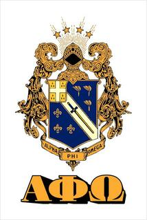 Alpha Phi Omega Crest - Shield Window Decals Stickers