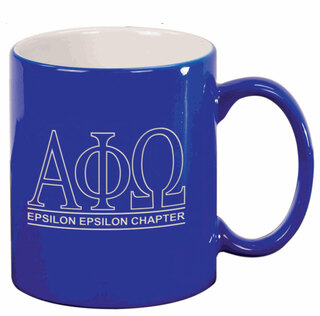 Alpha Phi Omega Custom Ceramic Coffee Mug