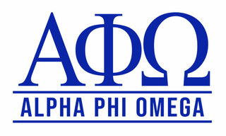 Alpha Phi Omega Custom Sticker - Personalized