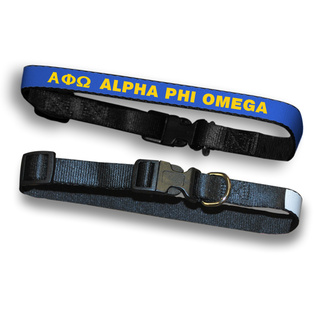 Alpha Phi Omega Dog Collar