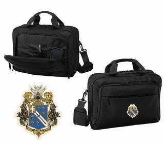 DISCOUNT-Alpha Phi Omega Emblem Briefcase