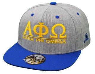 Alpha Phi Omega Flatbill Snapback Hats Original
