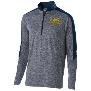 Alpha Phi Omega Fraternity Electrify 1/2 Zip Pullover