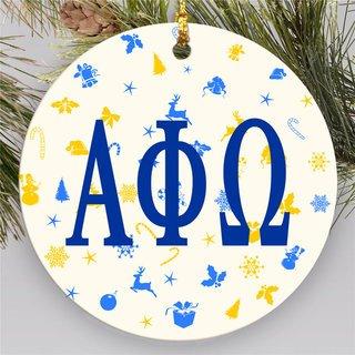 Alpha Phi Omega Holiday Cheer Ornaments